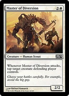MTG Magic M14 - (4x) Master of Diversion/Maître de la diversion, English/VO