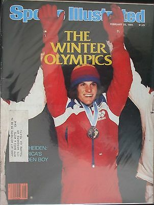 1980 Sports Illustrated-Olympic Gold Medalist Eric Heiden