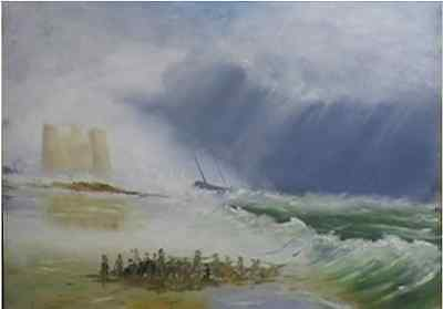 Art Lesson Dvd - The Shipwreck - Homage To Turner