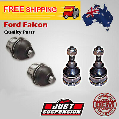 AU BA BF Front Upper + Lower Pair Ball Joints Set Ford Falcon Falirlane Fairmont