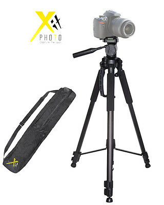 """XIT TRIPOD 72"""" PROFESSIONAL FOR CAMCORDERS AND DSLRS CAMERAS XT72TRB"""