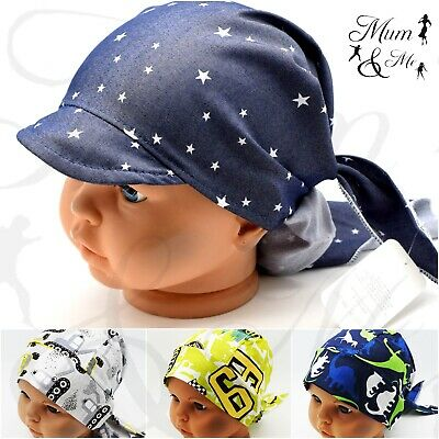 Kids Boys Toddler Head Scarf Summer Hat Adjustable Headband Bandana Hat Cap SUN