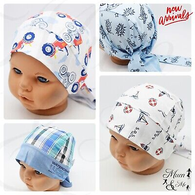 Kids Boys Toddler HeadScarf Summer Hat Adjustable Headband Bandana Hat Cap SUN