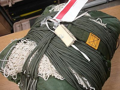 Usgi Parachute Used Military T-10 Main 35Ft W/lines As Is Cond. Shade Canopy