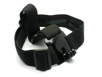 Adjustable Head Strap Mount Belt For GoPro Hero 1/2/3/4 Camera SJCAM SJ4000
