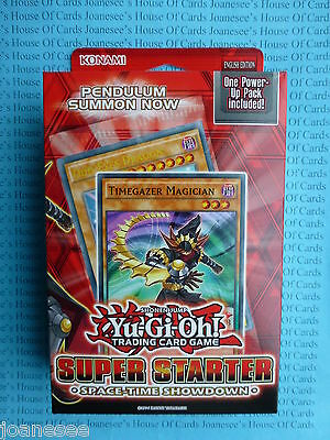 Space Time Showdown Yu-gi-oh Super Starter Deck YS14 1st Edition NEW Sealed Box