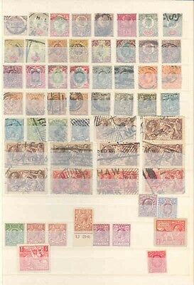 Great Britain Lot Of Mint Hinged, Never Hinged And Used Fantastic Clean Stamps