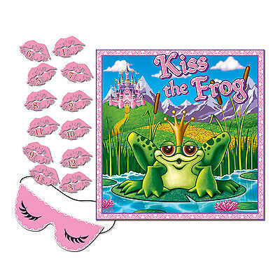 Kiss The Frog Princess Party Game For 12 Guests