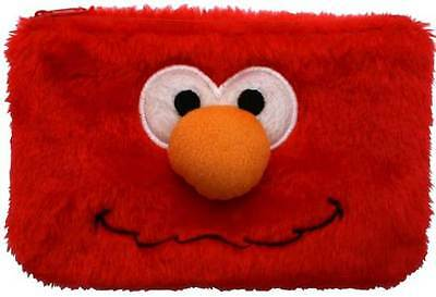 Sesame Street Elmo Kids Fluffy Pencil Case - Back To School