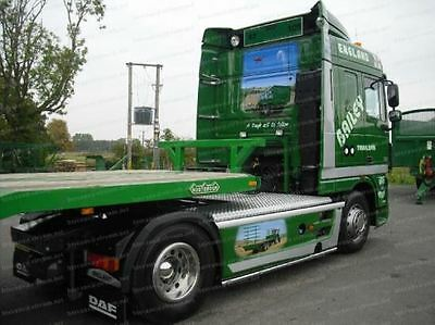 Volvo FH / FM 4x2 Stainless Steel Side Bars With LED Truck Lorry Accesories