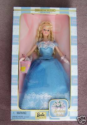 Barbie Birthday Wishes NIB 2000 Collector Edition Birthday Wishes Barbie