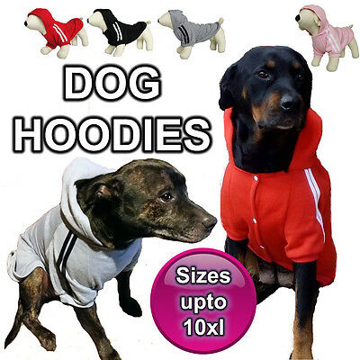 Meduim To Large Dog Hoodie Jumper Clothing Sweater Clothes Jacket Coat Winter