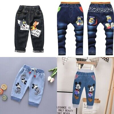 Baby Kid Children Boy Girl Clothes Jeans Pants Trousers Bottoms 23456789 years