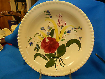 Southern Potteries Blue Ridge Bluebell Bouquet Dinner Plate