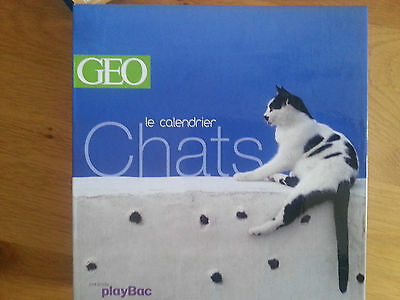 GEO calendrier chats playBac création perpetuel