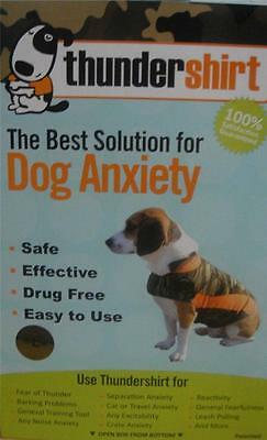 THUNDERSHIRT for DOG ANXIETY Large CAMO POLO Safe Effective Easy to Use