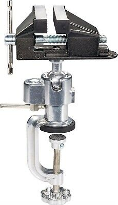 BASETECH Swivel Ball Joint Table Desk Bench Vice Clamp, Jaw Width 73mm 516169