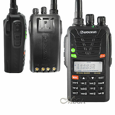 WOUXUN KG-UV6D UH Dual Band 136-174/400-480Mhz with FM Radio[KGUV6D-UH]
