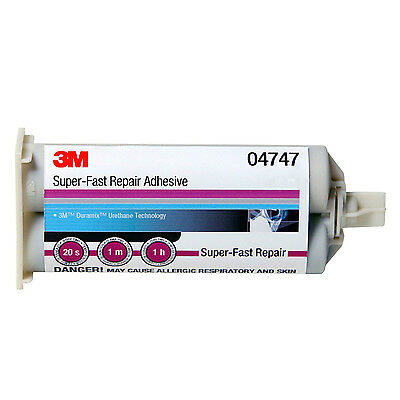 3M 4747 Super Fast Repair Adhesive 2 Part 04747 50mL