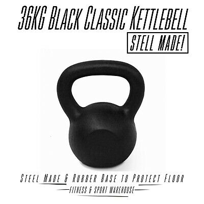 36Kg Russian Classic Steel Kettlebell Gym Weights Strength Training Accessories