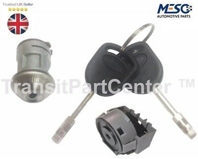 Ignition Switch & Lock (Barrel) With 2 Keys Ford Transit Mk6 2000-2006