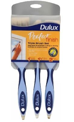 Dulux - Perfect Finish Triple Paint Brush Set