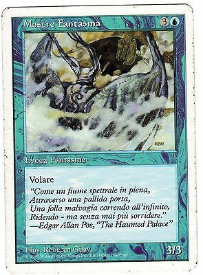 Mostro Fantasma - Phantom Monster carte Magic Set Base Quinta Edizione Italiana