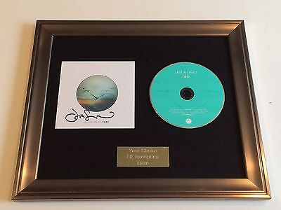 RARE MODERN NATURE FRAMED CD PRESENTATION SIGNED//AUTOGRAPHED THE CHARLATANS