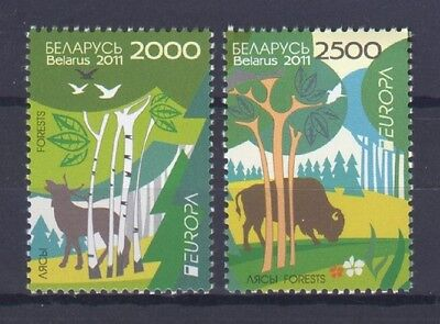 Belarus, Europa Cept 2011, Forests, Mnh