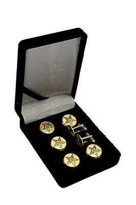 Order Of The Eastern Star OES Button Covers Tux Set