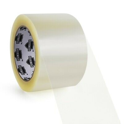 "Carton Sealing Clear Packing/Shipping/Box Tape 3"" 110 yd Choose your Rolls & Mil"