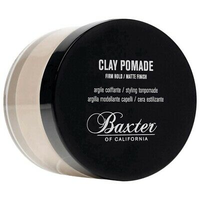 Baxter of California Clay Pomade 60ml Strong Matte Classic Mens Hair **GENUINE**