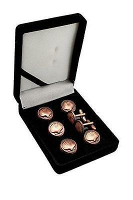 St. Thomas Of Acon Copper Masonic Studs Suit & Tux Set