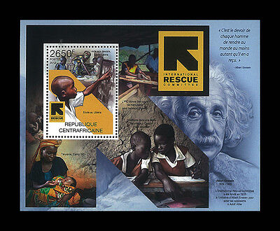 Central African Stamp, 2012 CAR INT1226B Albert Einstein 1879-1955 Famous People