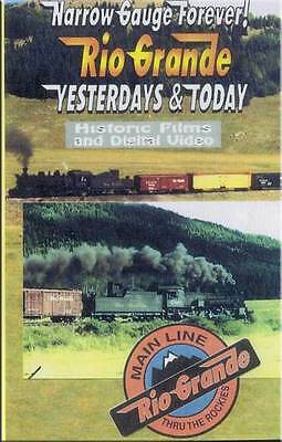 Narrow Gauge Forever Rio Grande Yesterdays & Today DVD NEW Sapinero Brance