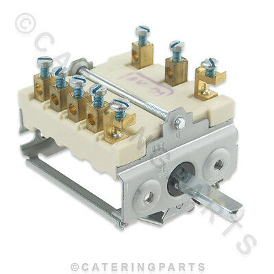 Rsw009 Ego 49.27215.746 Rotary Heat Selector Switch 6 Way 7 Position 4927215746