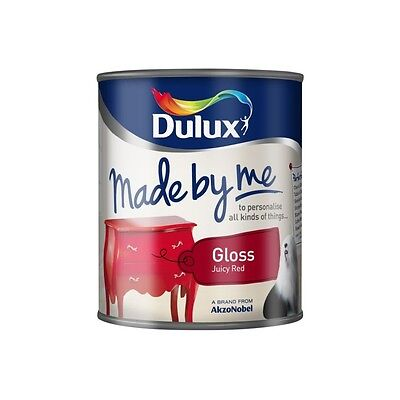 Dulux Made By Me Gloss 250ml / 750ml ALL COLOURS STOCKED