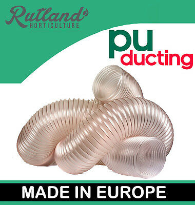 PU Flexible Ducting Hose Ventilation, Fume & Dust Extraction Woodworking Fan