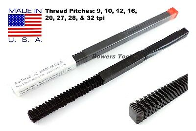 Jawco #2 Nu Thred Thread Restoring File 9-32 TPI SAE MADE IN USA Rethreading New