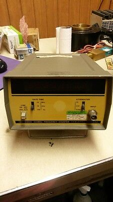 HEWLETT PACKARD OSCILLATOR 5382A 225 MHz FREQUENCY COUNTER