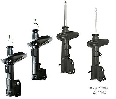 4 New Struts Full Set Ltd Lifetime Warranty Fit Hyundai Tiburon Free Shipping