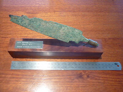 Iran Ancient Bronze Spearhead  Authenticity 800 BC