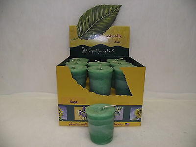 CRYSTAL JOURNEY CANDLE GREEN SAGE