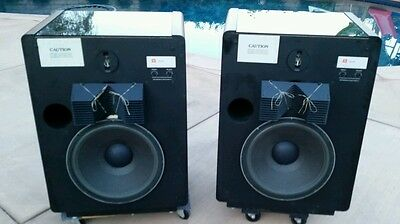 Vintage JBL L300 SUMMIT Monitor Speakers Matched Pair Excellent
