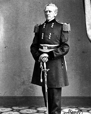 New 8x10 Civil War Photo: Union - Federal General John A. Dix