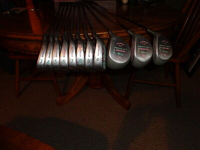 Seve Ballesteros 3-P Irons 1 3 5 Wood Lady Dunlop Collectable Womens Golf