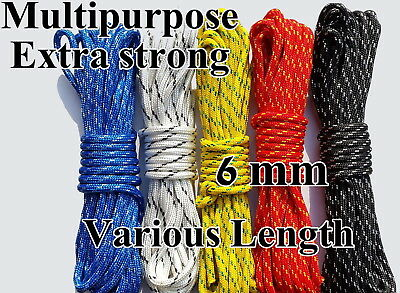 Poly Rope Washing Clothes Line Pulley Strong Polypropylene PP 6mm NOT CHINA