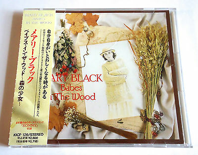 MARY BLACK Babes In The Wood +1 JAPAN EDITION CD 1991 w/OBI KICP-126