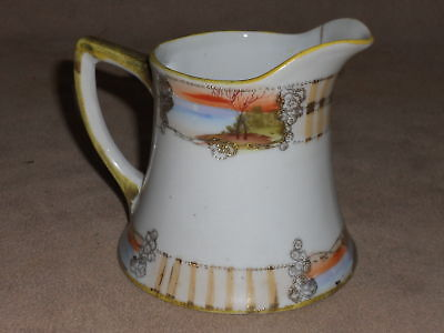 VINTAGE NIPPON Hand Painted - Pitcher Creamer