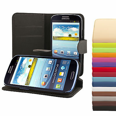 Samsung Galaxy S3 i9300/NEO i9301 Coque de protection Housse Pochette wallet